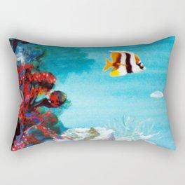 Australian Reef          by Kay Lipton Rectangular Pillow
