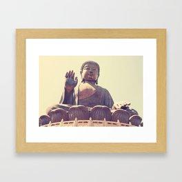 Lantau Buddah Framed Art Print