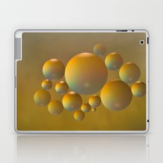 Distant moon. Laptop & iPad Skin