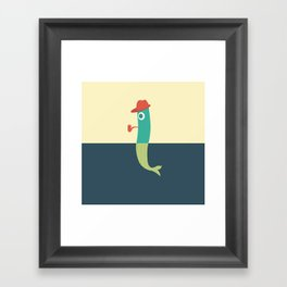 Pantless Project / RED-HAT Framed Art Print