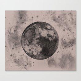 Moon Print Canvas Print
