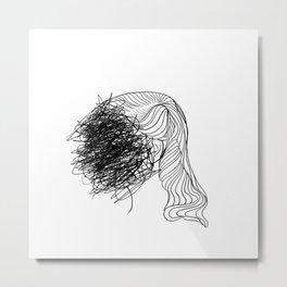 Sylvia too Metal Print