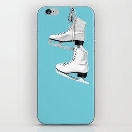 Ice Queen - blue iPhone Skin
