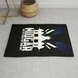 Final Fantasy VII - City with the Iron Sky Rug