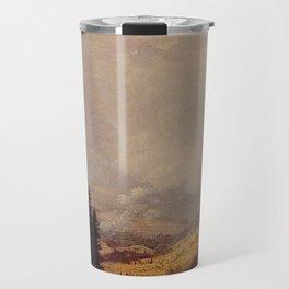 The Matterhorn By Albert Bierstadt   Reproduction Painting Travel Mug