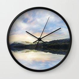 Llyn Padarn Wall Clock