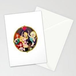 Princess Burlesque Stationery Cards