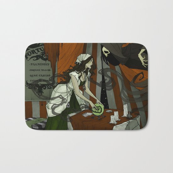 The Fortune Teller Bath Mat