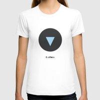 karma T-shirts featuring Karma by Hovercraftdoggy