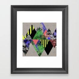 Triangles! Framed Art Print