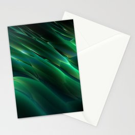 Alien Grass Stationery Cards
