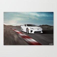 Lexus LFA Track Canvas Print