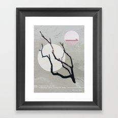 Debris Framed Art Print