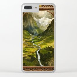 Hidden Valley Clear iPhone Case