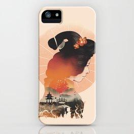 Memoirs of the Rising Sun iPhone Case
