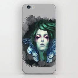 Blue Swan  iPhone Skin