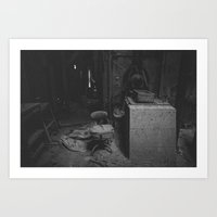 |FACTORY HOUR| Art Print