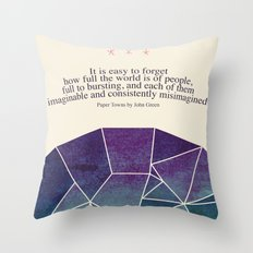 Imaginable Throw Pillow