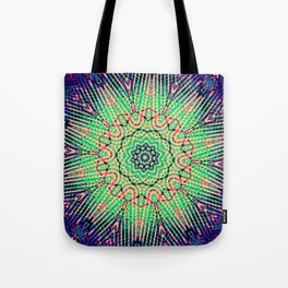 Synth Pop Girl Tote Bag