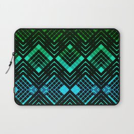 TARTAN REVISTED - GREEN Laptop Sleeve