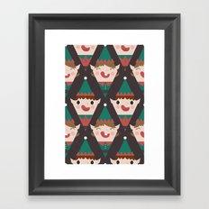 Day 22/25 Advent - Little Helpers Framed Art Print
