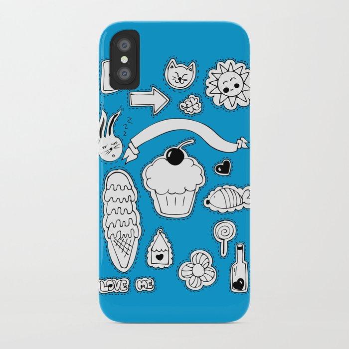 Sticker World iPhone Case