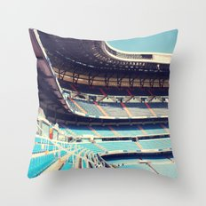 Estadio Santiago Bernabéu Throw Pillow