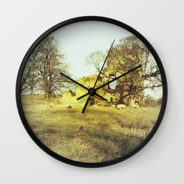 Ayton Castle #2 Wall Clock