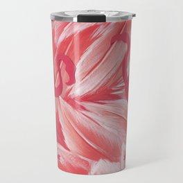 Pink dance of Flamingoes Travel Mug