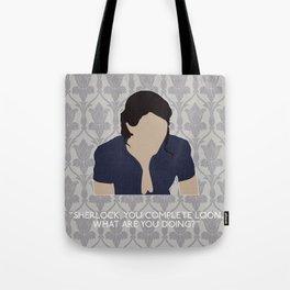 His Last Vow - Janine Tote Bag