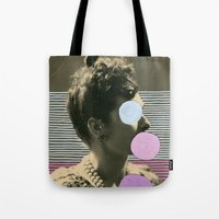 coco Tote Bags featuring Coco by Naomi Vona