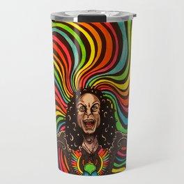 Like a Rainbow in the Dark Travel Mug