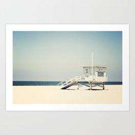 Hermosa Beach  Art Print