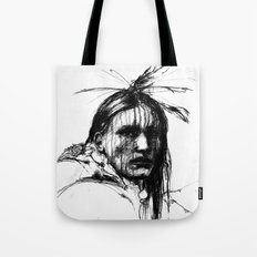 White Belly - Native American Indian Tote Bag