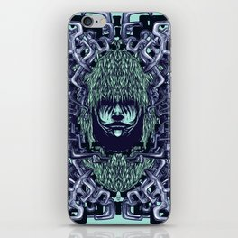 Boy with Labirinth Horns iPhone Skin