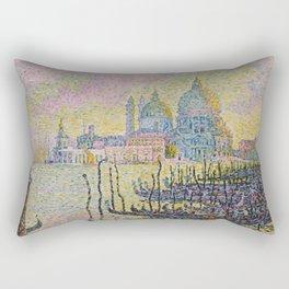 Grand Canal (Venice) - Paul Signac Rectangular Pillow