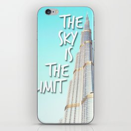The Sky is the Limit iPhone Skin