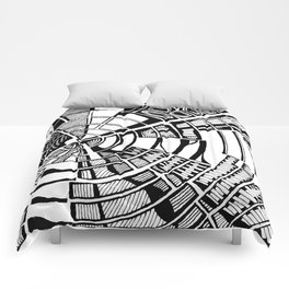 Post Modern Graphic Print Comforters