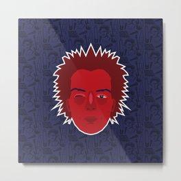 Sid Vicious - Sex Pistols Metal Print