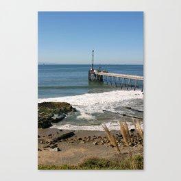 Carpinteria Pier Canvas Print