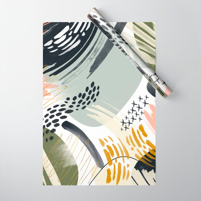 Abstract autumn season Wrapping Paper