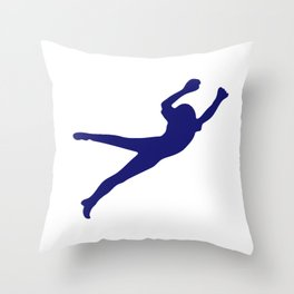 Soccer Goalie I Do My Own Stunts Throw Pillow