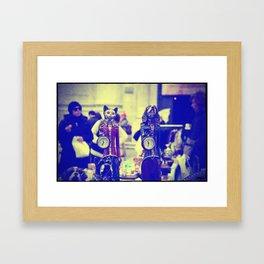 the time Framed Art Print