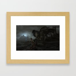 Judgment of the Sphinx Framed Art Print