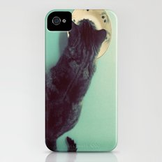 Cat and Saucer Slim Case iPhone (4, 4s)