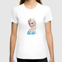 frozen elsa T-shirts featuring Elsa - Frozen by lauramaahs
