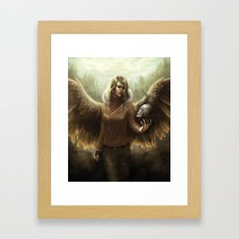 Angel of Revival Framed Art Print