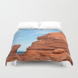 Mohawk Teapot Rock Duvet Cover