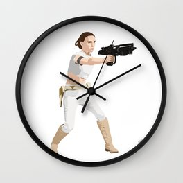 Padme of Star Wars Wall Clock