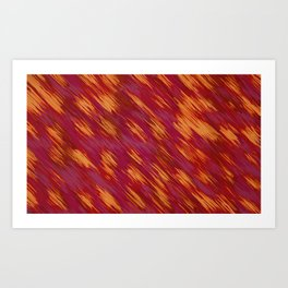 red pink and orange painting texture abstract background Art Print